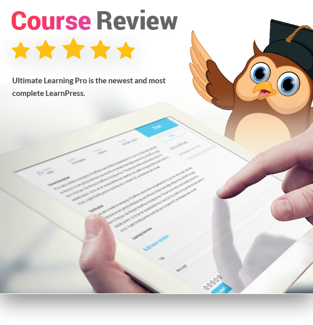 - 15 course review - Ultimate Learning Pro WordPress Plugin