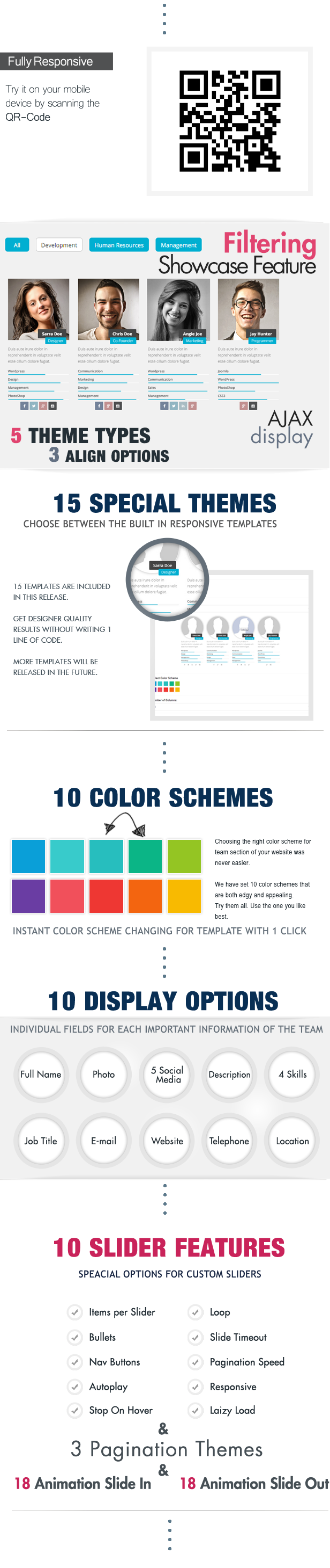 Team Showcase for Visual Composer WordPress Plugin - 2